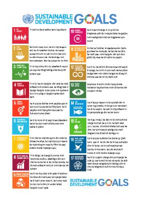 SDGs Dagbani portrait