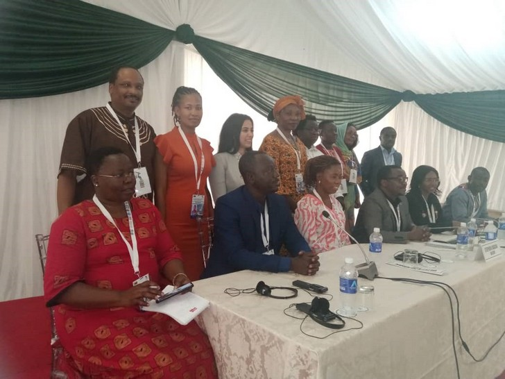 Members of the Africa Major Group